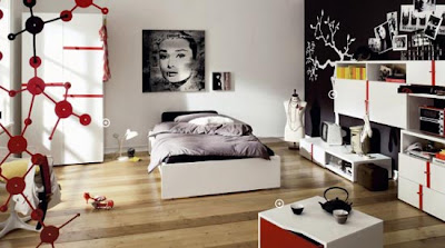 Cool Teen Bedroom Design for Boys and Girls