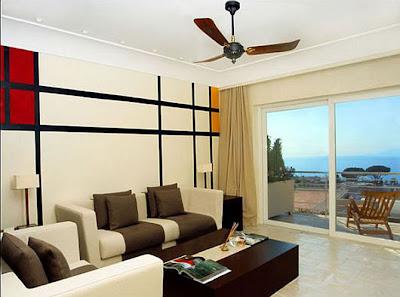 Modern Luxury Hotel Interior Livingroom