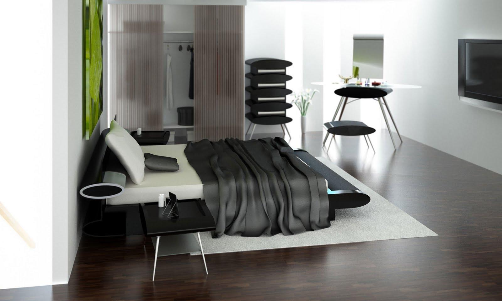 Design Classic Interior 2012: Modern and Elegant Bedrooms