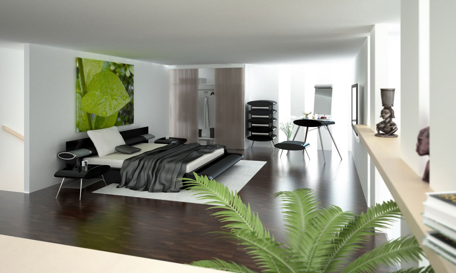 Design Classic Interior 2012: Modern and Elegant Bedrooms