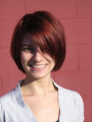 Trendy Short Bob Hairstyles With Bangs