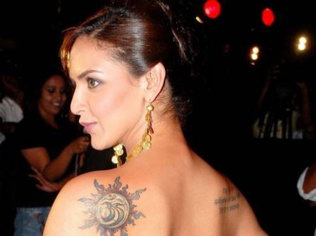 The trend of tattoos started catching up with Hollywood celebrities in