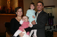 Satterfield Family Photo at Baptism