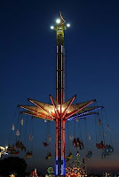 Lighted Ride at Minnesota State Fair