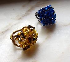 Aneis com cristais 1