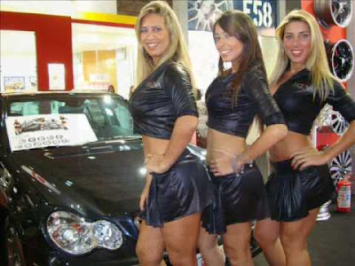Fotos Gatas no salão do automovel6