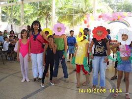 Festa das crianças 2008.