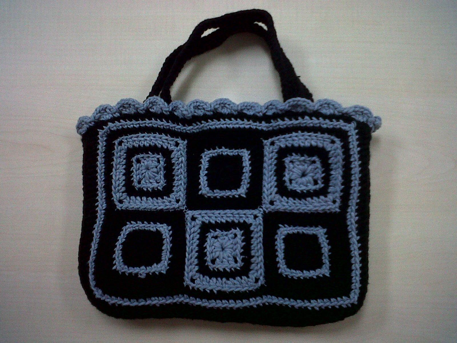 bosan dengan tas kulit mungkin tas rajutan handmade ini bisa menjadi