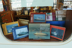 LMC maritime books at the QE2 bookshop