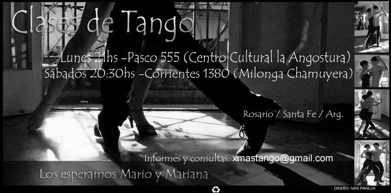 Mario Altamirano Profesor de tango
