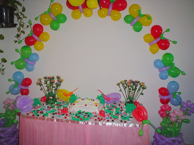 decorações de aniversário com balões