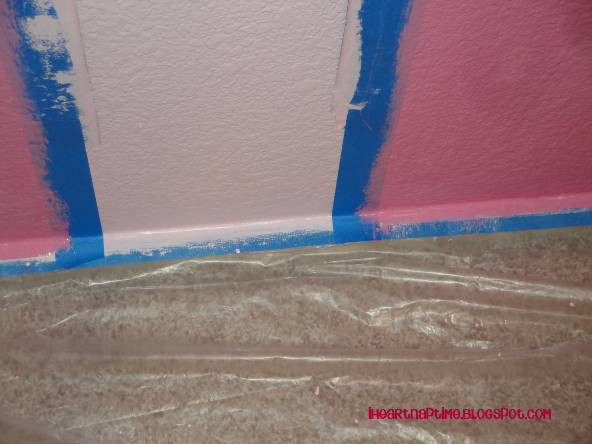 How To Paint Stripes On The Wall I Heart Nap Time