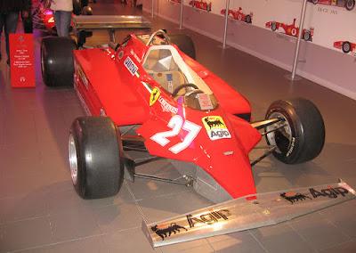 Ferrari 126 C de Gilles Villeneuve