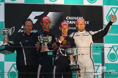 podium china 2009