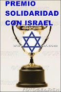 Premio Solidaridad con Israel
