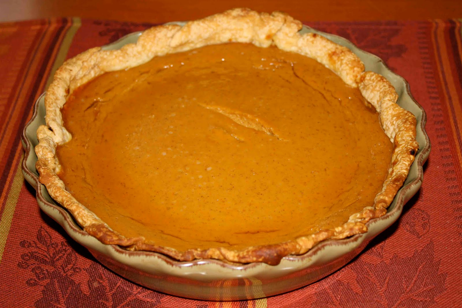 New England Pumpkin Pie