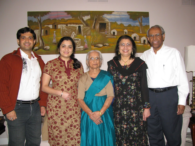 Shankar Hegde, Leela Rao and  grand mother