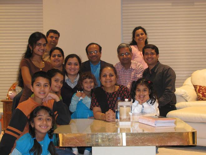 Madhuri & Gururaj, Anupama & Praga Hukker and Raghu & Sandhya Pandurangi