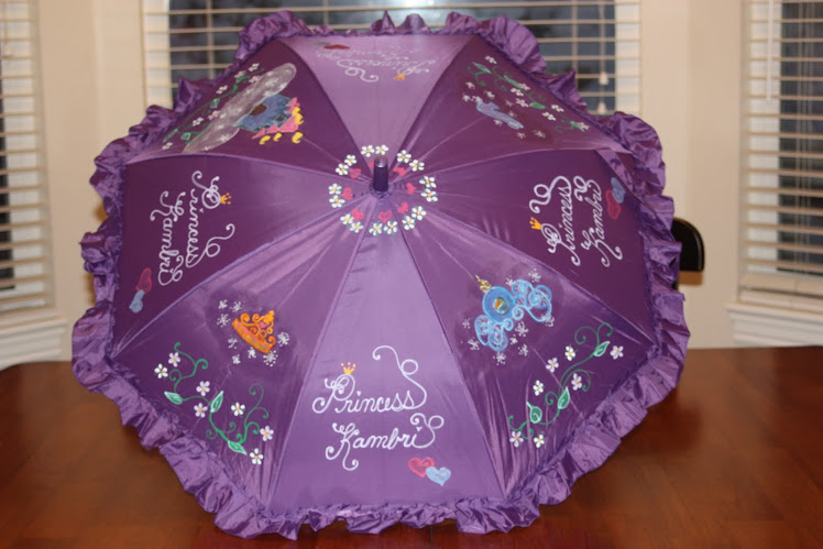 purple princess parasol