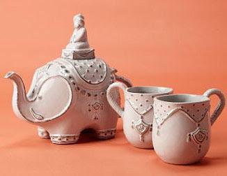 A very happy life 4 5 09 4 12 09 - Elephant shaped teapot ...