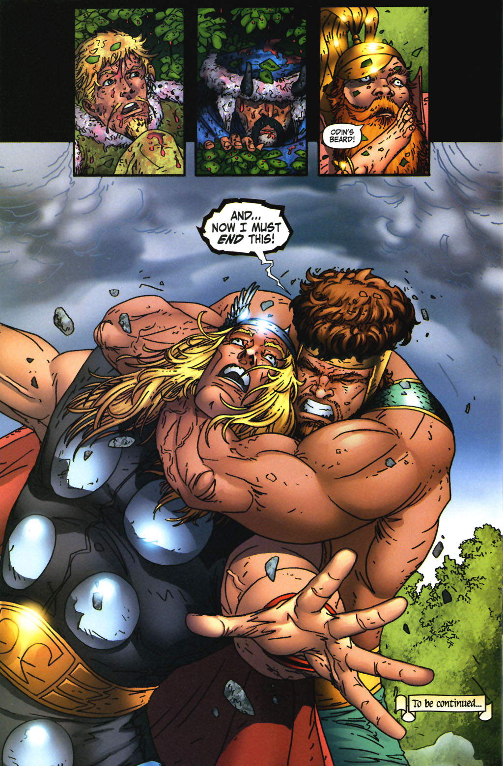 Read online Thor: Blood Oath comic -  Issue #3 - 20