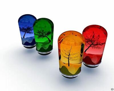 السعادة والحياة ألوان فاختر لونك