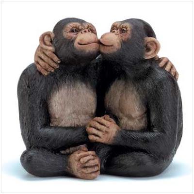 gambar monyet pacaran lucu abis