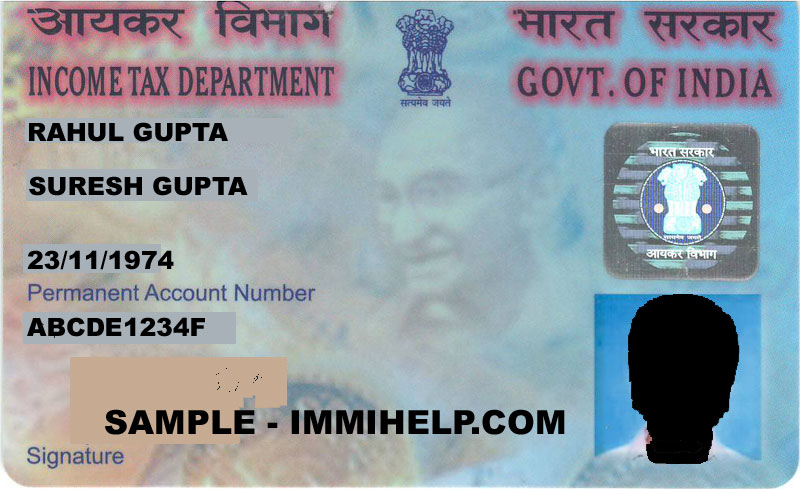 How to find address of a person from pan number check