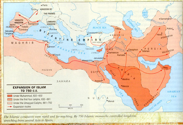 Growth of the Islamic Empire (blogspot.com)