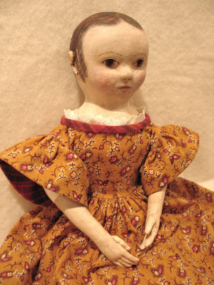 Dolls Made by Dixie Redmond Using Her Izannah Walker Doll Pattern