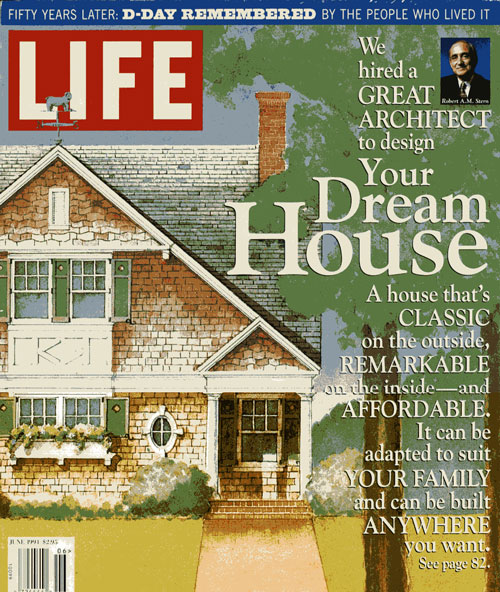 In Cleaning Out My Treasures Clutter, I Found The June 1994 Issue Of Life  Magazine. Each Year Time Life Published A House To Be In The Series Of  Dream ...