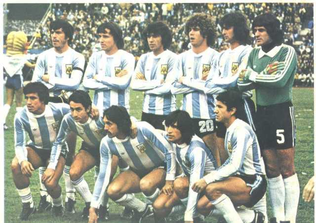 Grandes jugadores de la Selección Argentina