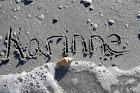 Karinne's Name in the Sand