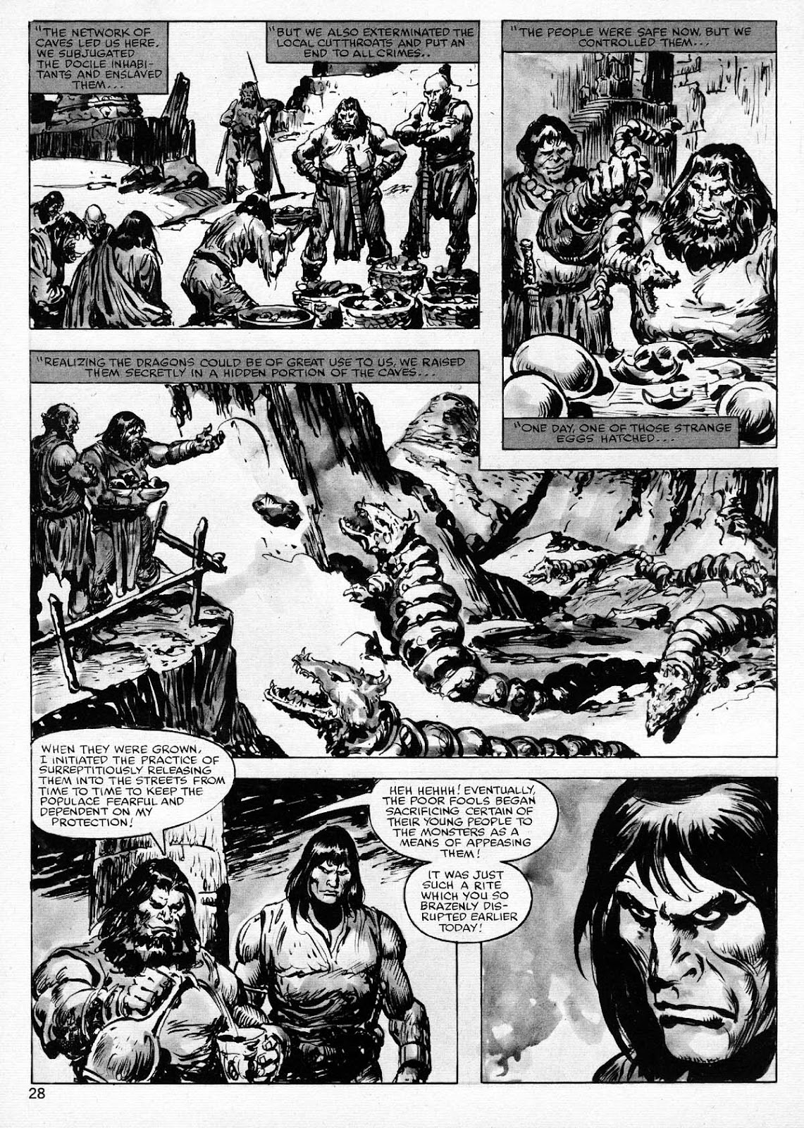 The Savage Sword Of Conan Issue #77 #78 - English 28
