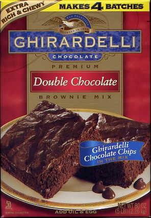 Titdilapa Ghirardelli Double Chocolate Brownie Mix