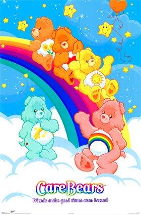 NEW Baby Girl 3 CARE BEAR Baby Bottles 8Oz Pink Rainbow SunShine And