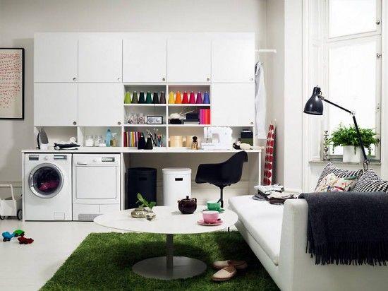 Colores para decorar: ideas para cuartos de plancha