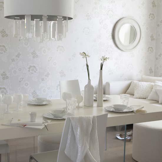 Colores para decorar como combina una pared blanca en salones - Como decorar una pared blanca ...