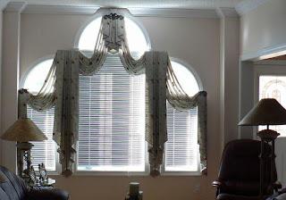 Colores para decorar cortinas con formas originales o con - Formas de cortinas ...