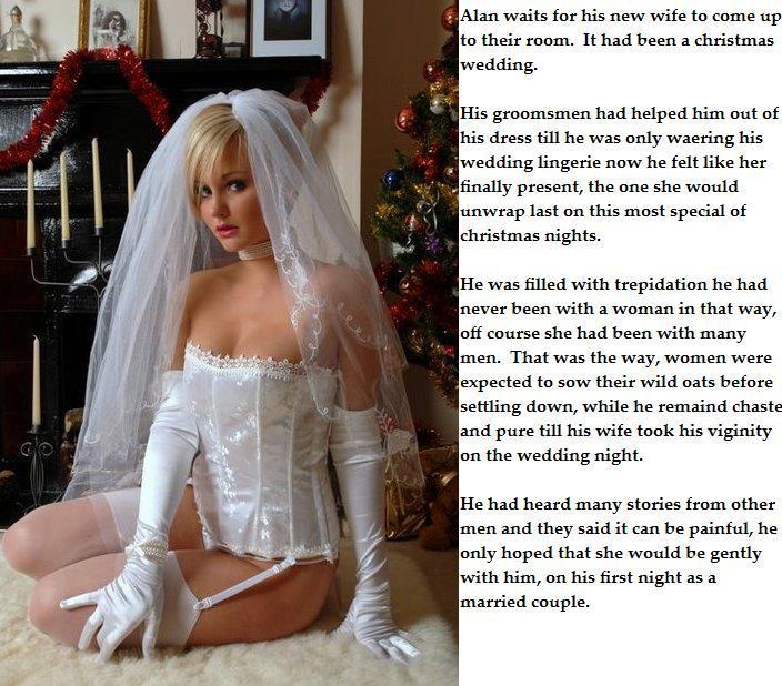 from Damon forced gay sissy wedding