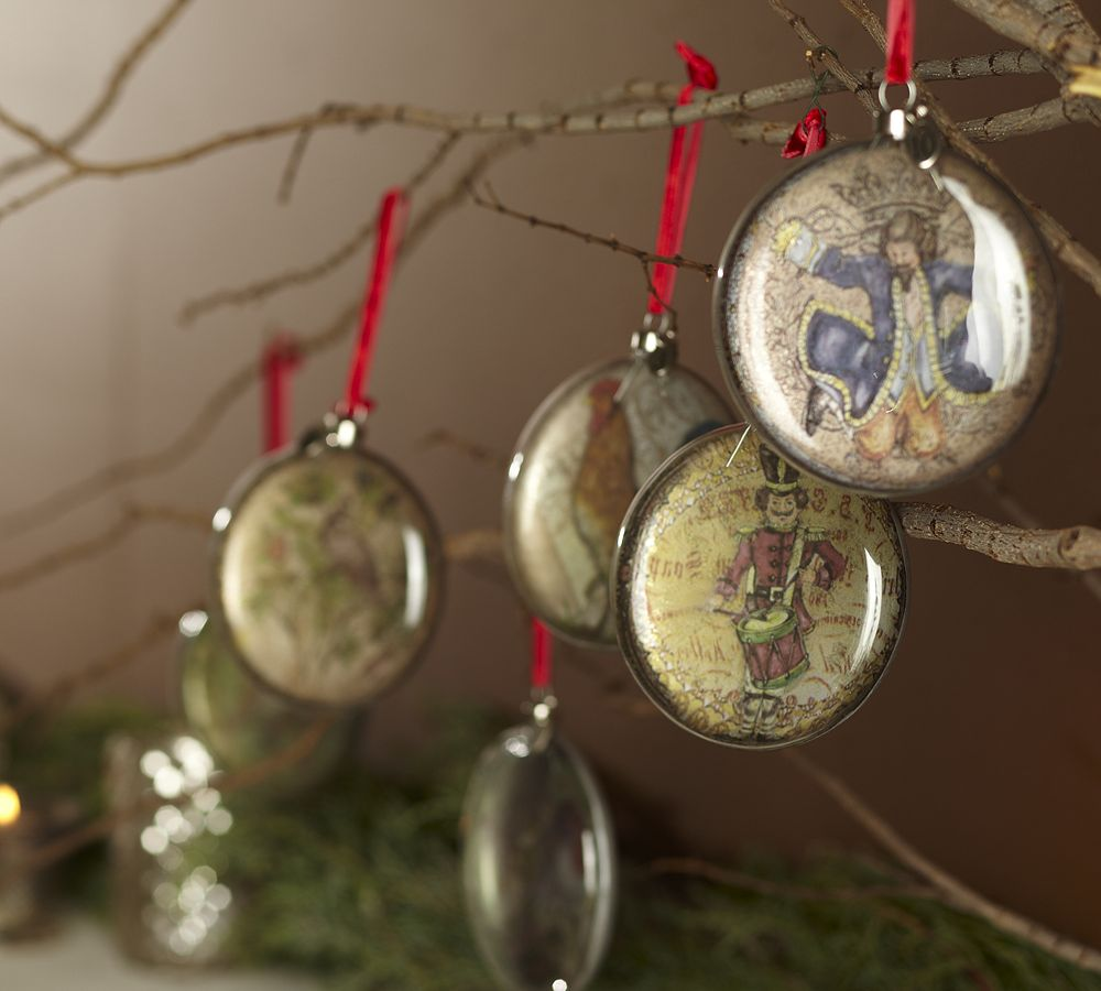 Pottery barn christmas ornaments - I Found A True Christmas Wish One Day I Will Have These They Re Found At Pottery Barn And They Re So Beautiful They Re Perfect
