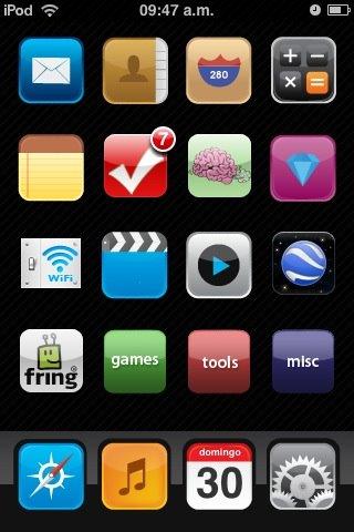 Mi iPod Touch, cultura combi