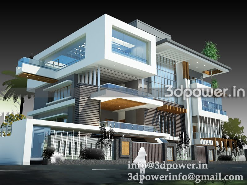 Bungalow House Plans 3D View