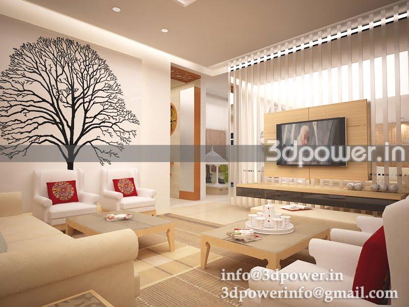 3d wallpaper for living room for Interior wallpaper designs india