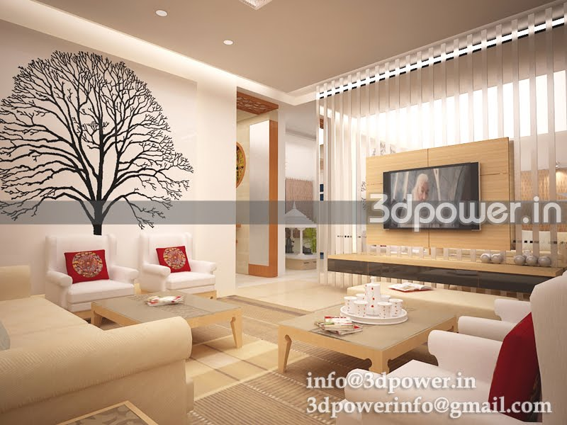 3d wallpaper for living room for Interior wallpaper designs india