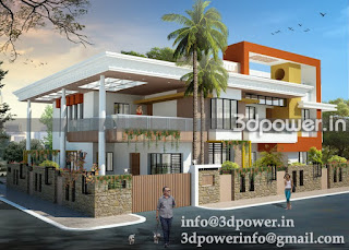 3d animation 3d rendering 3d walkthrough 3d interior quot 3d rendering exterior of bungalow quot