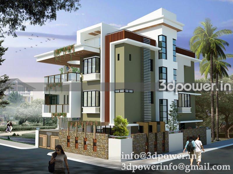 3d+image+contempary+bungalow_bungalow+1_3d+modeling_3d+rendering_www ...