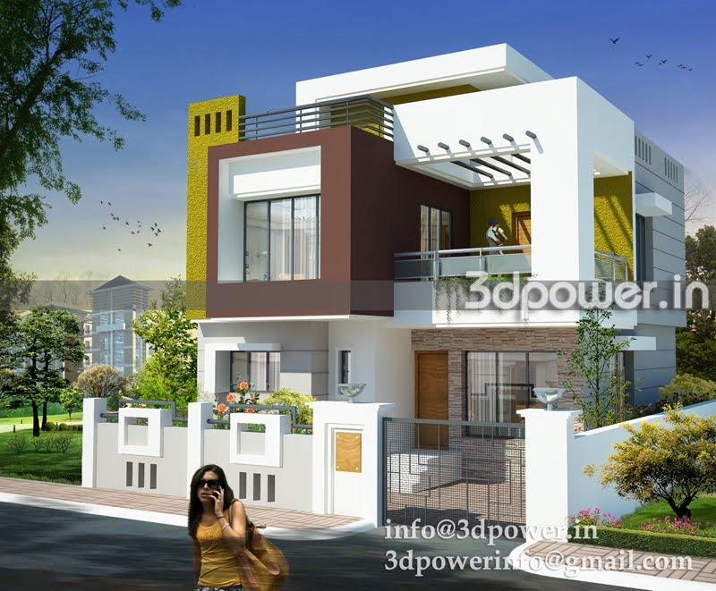 Modern elevation bungalows joy studio design gallery for Elevation of bungalow