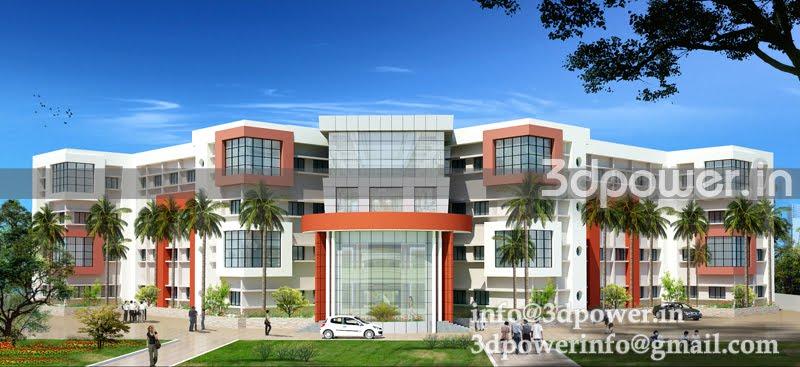 Modern College Building Elevation | www.pixshark.com ...