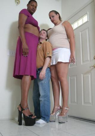 Tall Women Height Comparison: Nubian Amazon